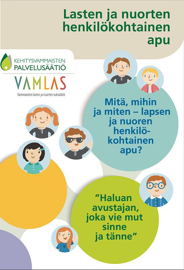 Katsaus lasten ja nuorten henkilökohtaiseen apuun - esitteen kuva