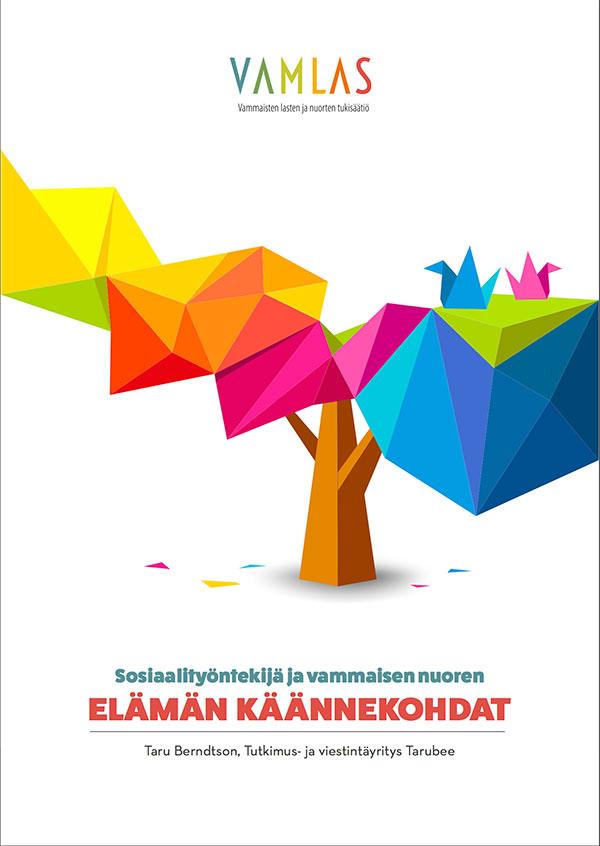 Sosiaalityöntekijä ja vammaisen työntekijän elämän käännekohdat - julkaisun kuva