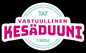 TAT & T-Media Vastuullinen kesäduuni logo