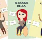 Täältä tulevat Vaikuttaja Ville, Blogger Bella & Freelancer Frank!